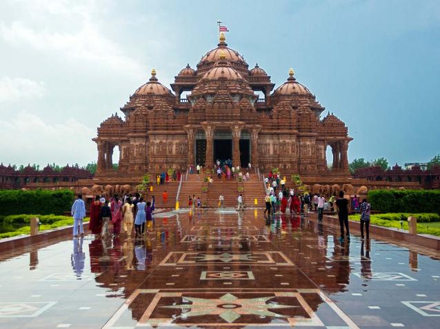 Il Meraviglioso tempio di Akshardham